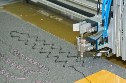 Heating Sewing Process